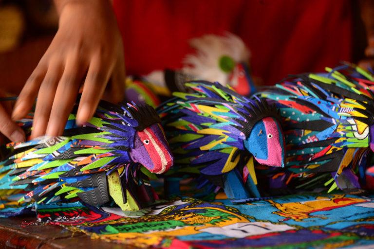 Kushirika artisan group. Photo credit: Colleen Begg.