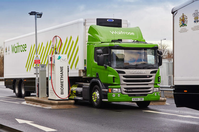 A biomethane filling station for CNG