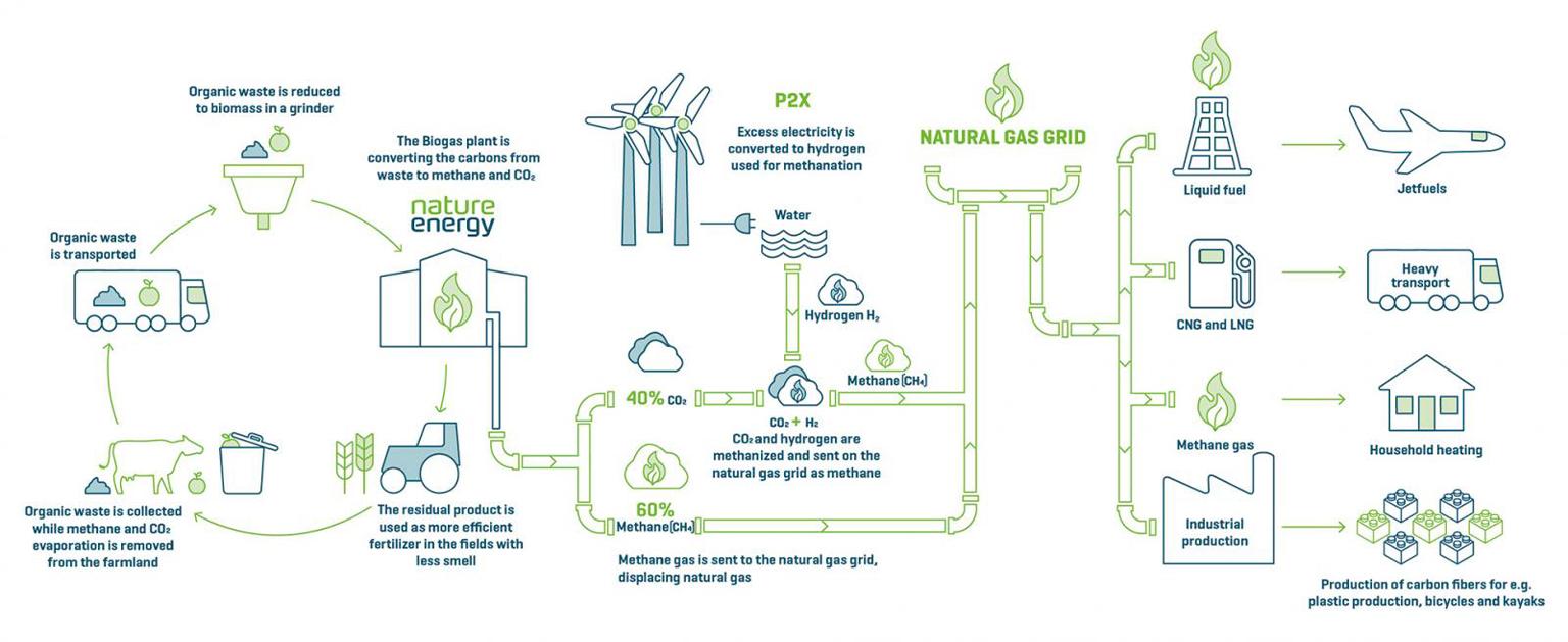Nature Energy's business illustration