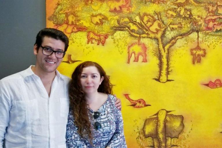 Carlos Campos and Georgina Coral Sandoval