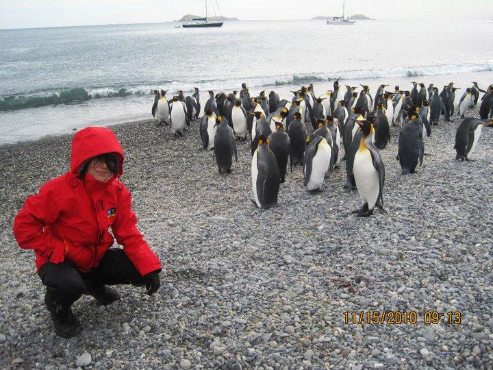 Lisa Yang in Antarctica