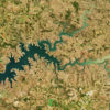 Prolonged dry conditions have caused the worst drought in central and southern Brazil in almost a century. The Operational Land Imager (OLI) on NASA's Landsat 8 captured an image of Lago das Brisas on the Paranaíba River on June 17, 2021.