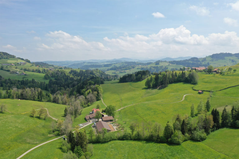 The Rietholzbach catchment in Switzerland