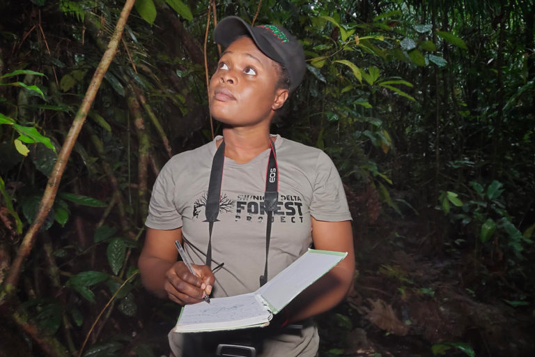 Rachel Ashegbofe Ikemeh, Project Director at SW/Niger Delta Forest Project. Photo credit: SW/Niger Delta Forest Project