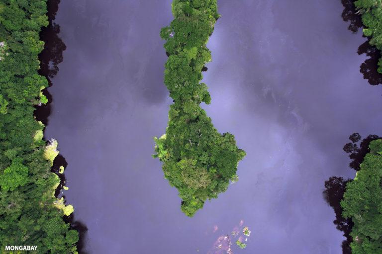 Ivindo River in Gabon. Photo credit: ZB