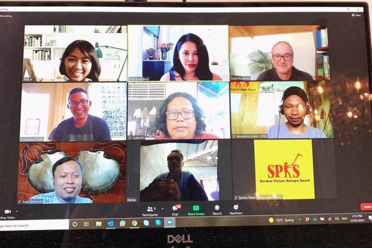 Engaging NGOs, local experts, and communities is key to establish a strong long-term sustainability strategy, even online during pandemic. Photo credit: Aida Greenbury