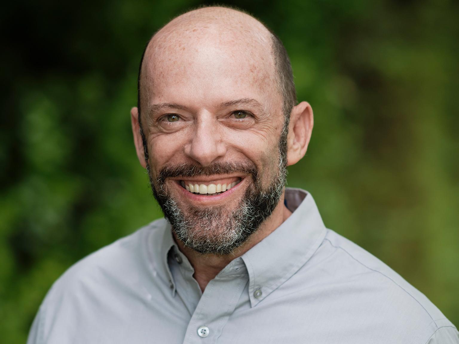 James Deutsch CEO Rainforest Trust. Photo credit: Rainforest Trust