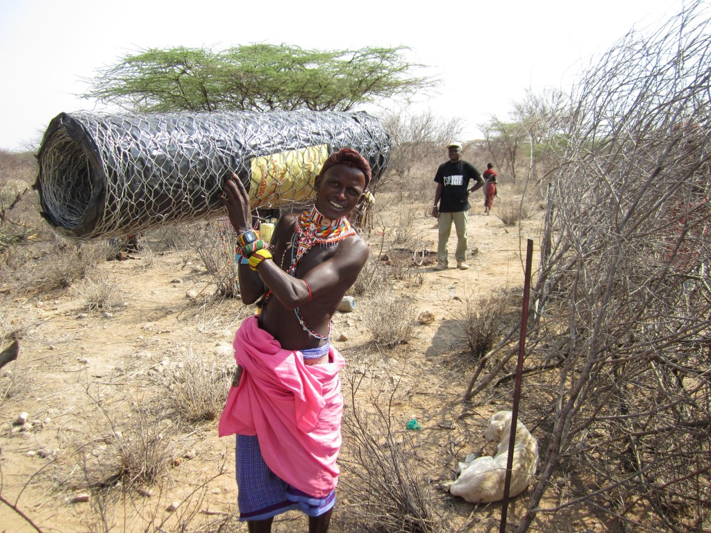 Born Free predator-proof boma training