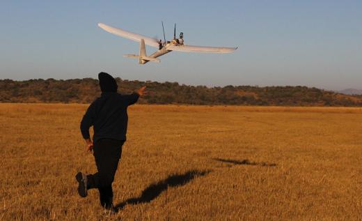 Launching the UAV