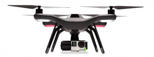 3-D Robotics Solo with GoPro