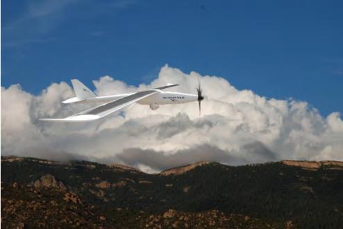 SilentFalcon UAV