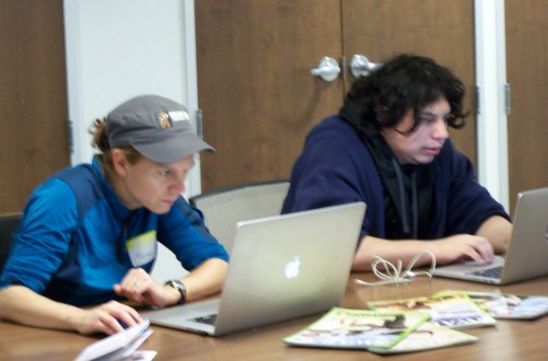 Coding under deep thought at IEO Hackathon