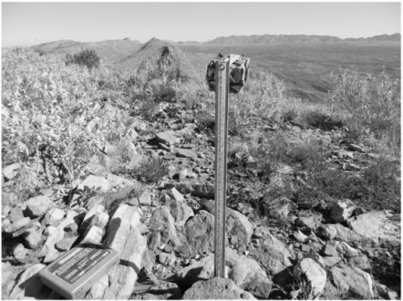 A camera trap in the unforgiving terrain of the MacDonnell Ranges, Australia. Image via McDonald, Peter J., et al.