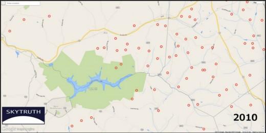 Fracking map 2010