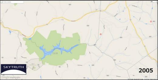 Fracking map 2005