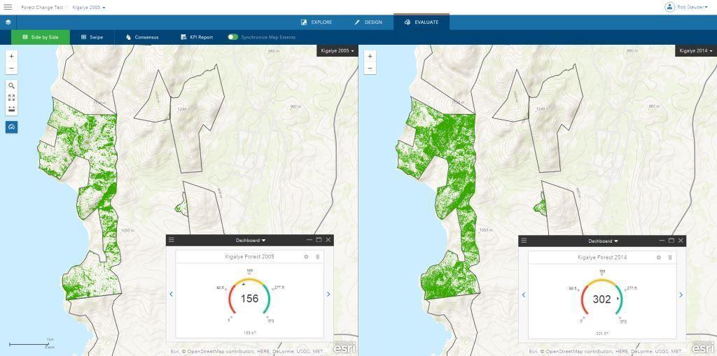 Fig 3 - Geoplanner screenshot