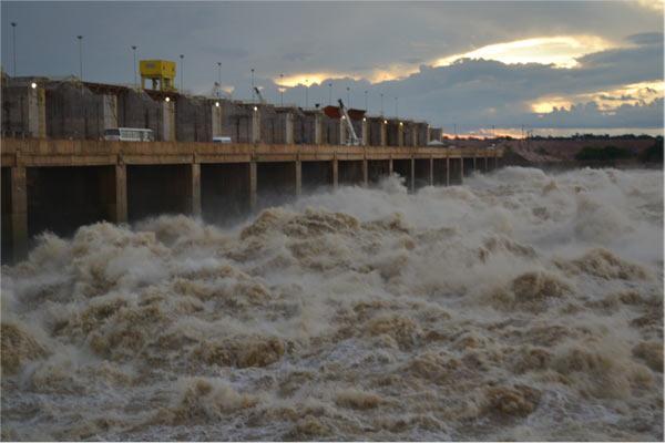 La represa Jirau en Brasil. Foto: Cortesía de Philip Fearnside.