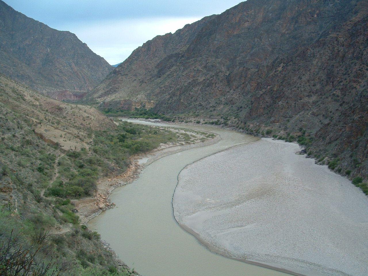 El río Marañón es un gran río que recorre toda la Amazonía peruana. Fotografía: Mongabay
