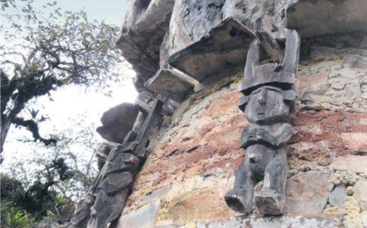El Gran Pajatén es una de las áreas arqueológicas que se ve afectada por actividades extractivas en el Parque Nacional del Río Abiseo en la región de San Martín. Fotografía: Sernanp