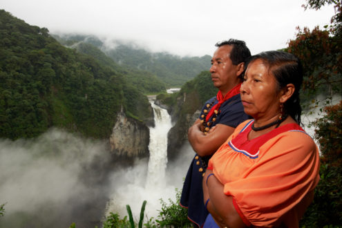 Las principales demandas de los pueblos indígenas en el Perú son la titulación de sus territorios ancestrales y el respeto a su derecho a a la consulta previa. Fotografía: USAID.