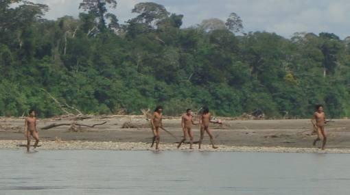En 2011 se avistó a una familia de indígenas en aislamiento en el Parque Nacional del Manu. (Fotografía: Elcomercio.pe)