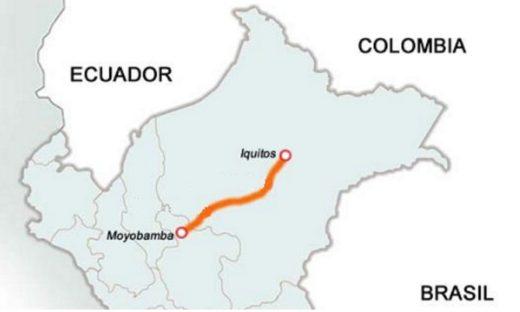 La ruta que atravesaría el proyecto eléctrico serían de casi 600 Km. (Fotografía: Onamiap.org)