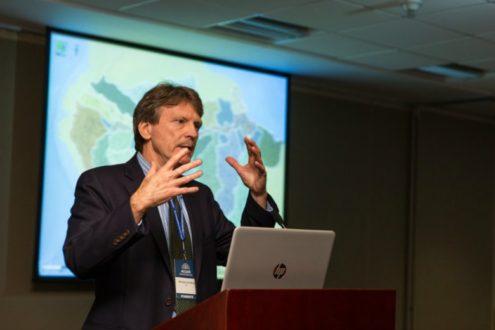 Dr. Michael Goulding, consultor en ecología de ríos y fauna de la Amazonía. (Fotografía: WCS)