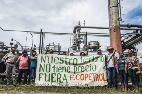 Los u'wa no desean actividades de explotación de hidrocarburos en sus tierras. Fotografía de Kinorama Producciones