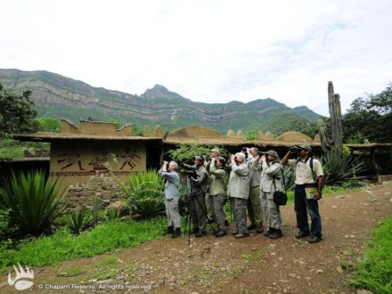 Turistas en la ACP Chaparri. Fotografía de www.chaparri.org
