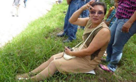Lesbia Urquía, activista ambiental de Honduras. Fotografía de Twitter.