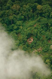 Foto por Cristóbal von Rothkirch, cortesía de la Unidad de Parques Nacionales Naturales de Colombia y Amazon Conservation Team.