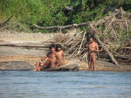 Pueblos en aislamiento. Fotografía del Ministerio de Cultura del Perú.