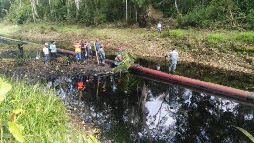 El Oleoducto Norperuano tiene más de 40 años de funcionamiento. Foto: Actualidad Ambiental.