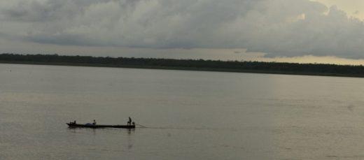Río Amazonas en el que desemboca el Río Caquetá y que desean proteger movimientos ambientalistas. Fotografía: Iván Montero, Sinchi.