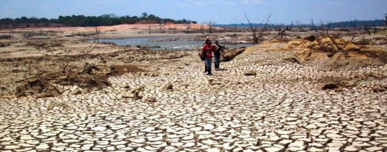 Las sequías, un efecto de El Niño que afecta a toda Latinoamérica. Foto: Senahmi.