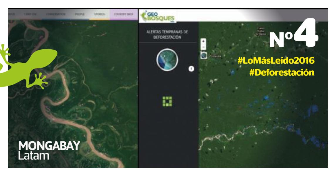 Portal de Geobosques. Imagen: Minam.