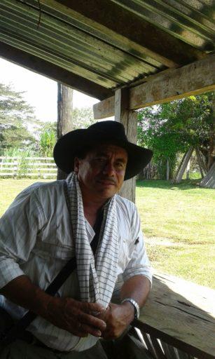 Nilson Medardo Ruiz Vergara, hijo de uno de los fundadores de El Retorno. Foto de Fernanda Sánchez.