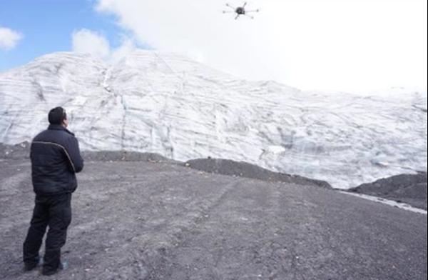Prueba de un dron en la región de Cajamarca. Foto: qAIRa.