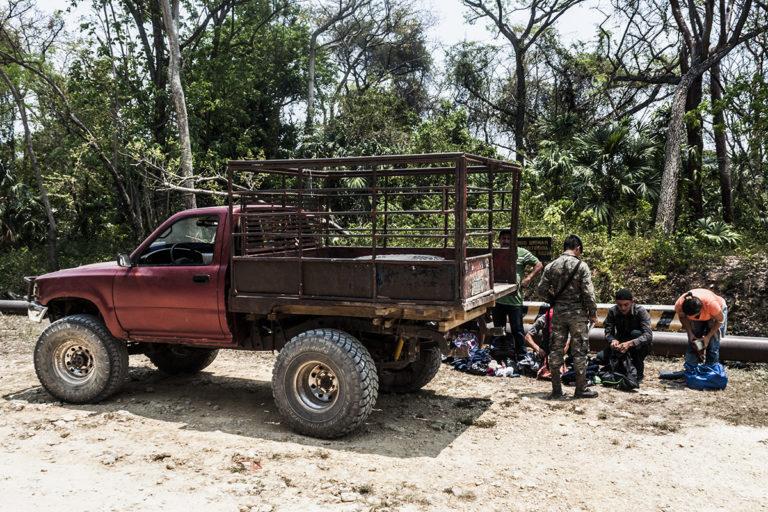 A New Secret Runway Found In Laguna Del Tigre National Park In Guatemala