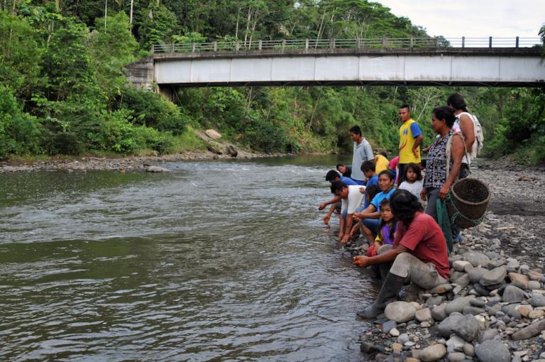Día Mundial del Agua: Pobladores de Playas del Río Tigre. Foto: Jonathan Palma
