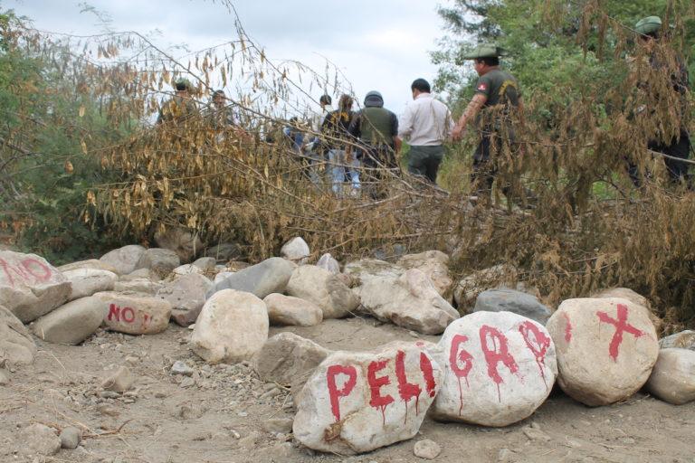 Comuneros del ACP Chaparrí denuncian constantemente la presencia de invasores ilegales en los bosques secos. Foto: Rita García.