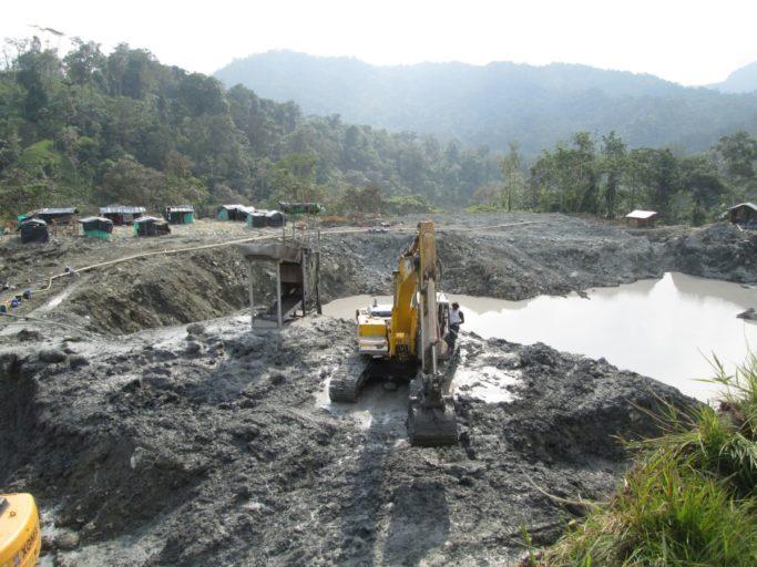 En el Chocó el 99 % de la minería no cuenta con títulos mineros ni licencias ambientales. Foto: Tierra Digna