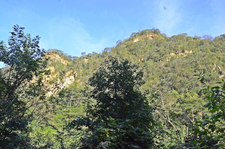 Hidroeléctrica Rositas El área denominada Tumbo por los indígenas guaraníes, donde se levantaría el muro de la represa Rositas. Foto: Miriam Jemio
