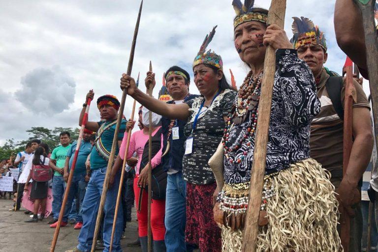 Las clínicas jurídicas ambientales defienden los derechos colectivos. Foto: Observatorio Petrolero de la Amazonía Norte (Puinamudt).