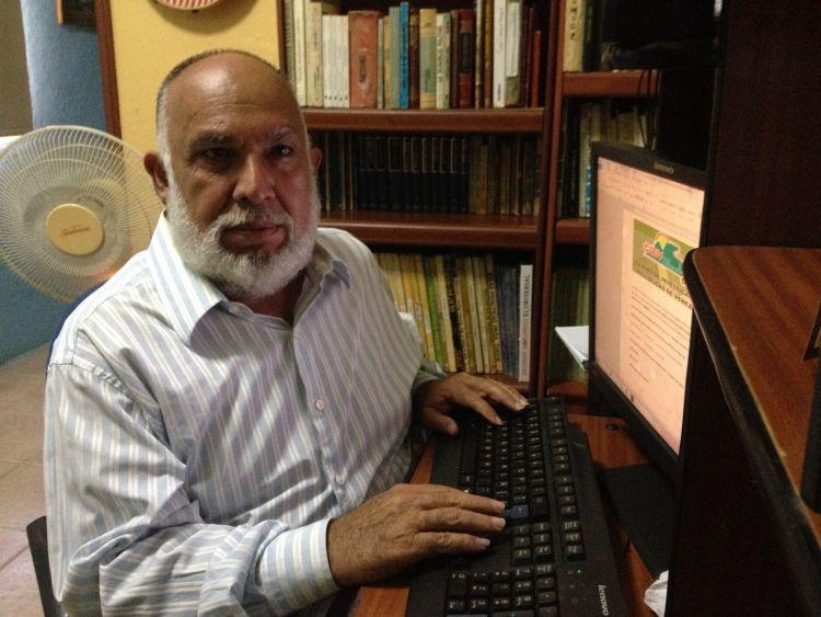 Alejandro Lanz, ambientalista que vive bajo amenaza en Venezuela. Foto: Centro de Investigaciones Ecológicas de Venezuela
