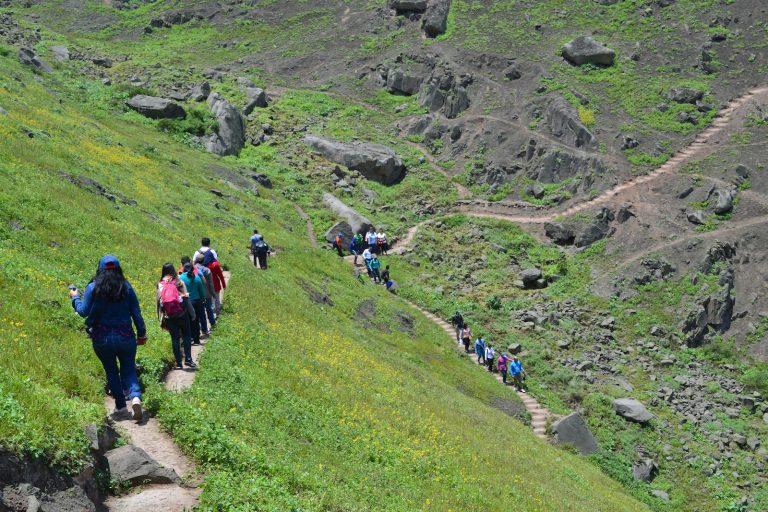 Se organizan paseos turísticos para conocer la biodiversidad de este frágil ecosistema. Foto: Carlos Soria.