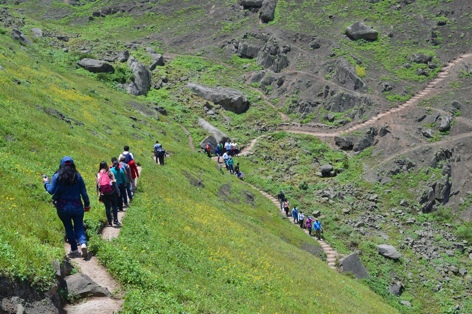 La Asociación Protectores Ambientales de la Flor y Lomas de Amancaes realiza recorridos ecoturísticos. Foto: Centro Urbes
