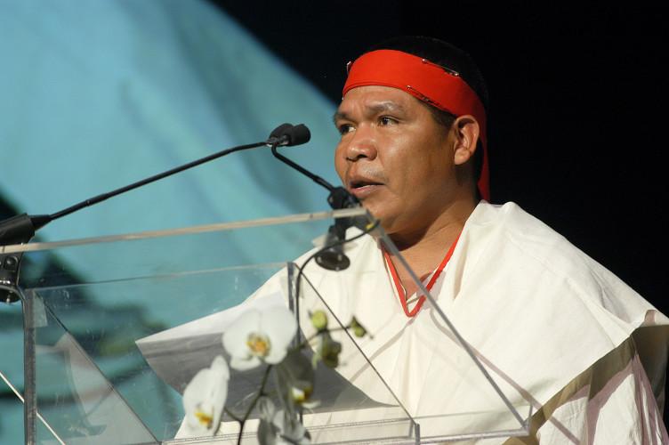Isidro Baldenegro López, activista mexicano y ganador del Premio Goldman del medio ambiente, fue asesinado a principios de 2017. Foto: Goldman Prize