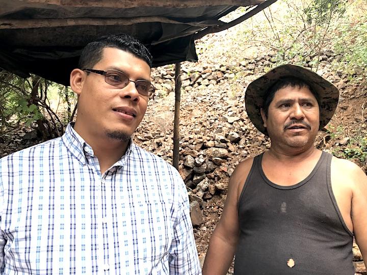 Olman salazar y Bernardo Laguna. Foto: Onda Local.