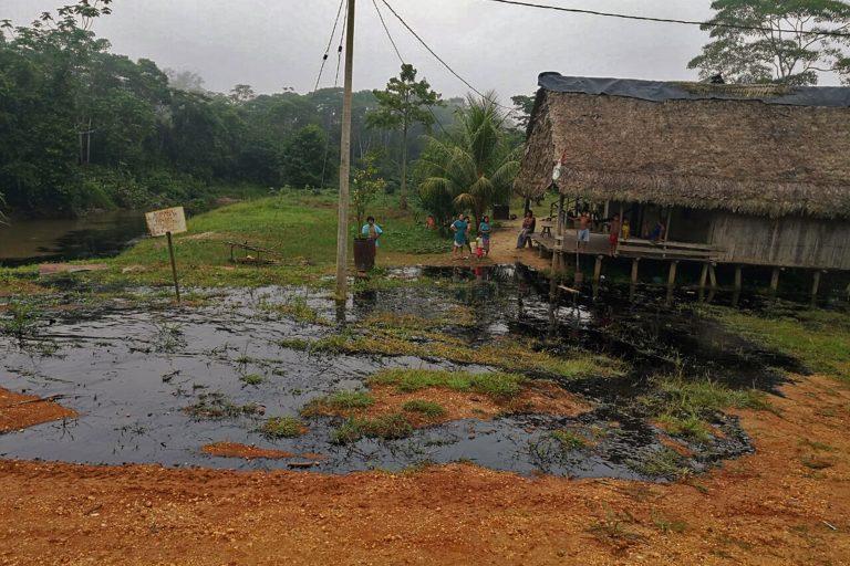 Peru derrame de petróleo en la Amazonía